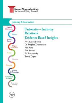 University-Industry Relations-Evidence Based Insights