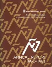 Annual Report 1990-1991 Samuel Neaman Institute