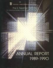 Annual Report 1989-1990 Samuel Neaman Institute