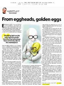 From egg heads, goldeneggs