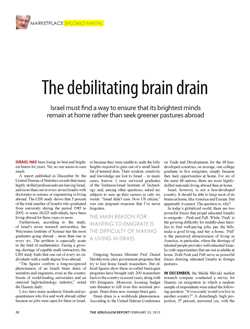 The debilitating brain drain