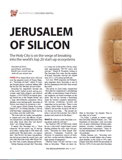 JERUSALEM OF SILICON