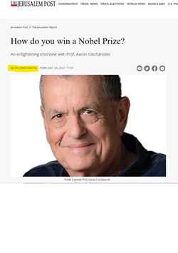 How do you win a Nobel Prize