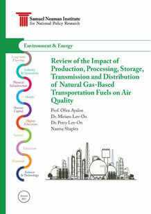 Review of the Impact of Natural Gas Based Transportation Fuels on Air Quality
