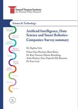 Artificial Intelligence, Data Science, and Smart Robotics- First report summery