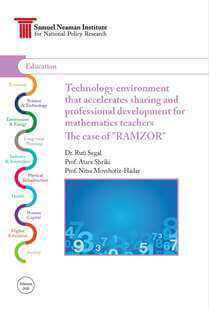 Technology environment that accelerates sharing and professional development for mathematics teachers The case of RAMZOR