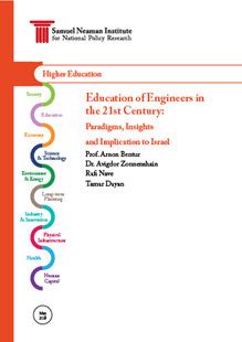 Education of engineers in the 21st century: Paradigms, insights and implications to Israel