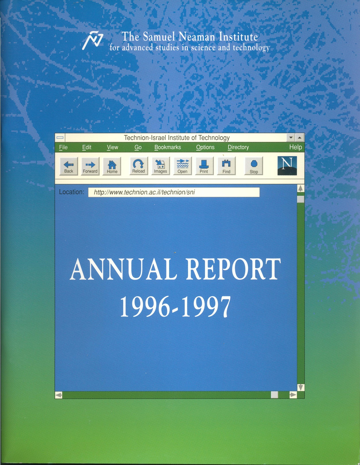 Annual Report 1996-1997 Samuel Neaman Institute