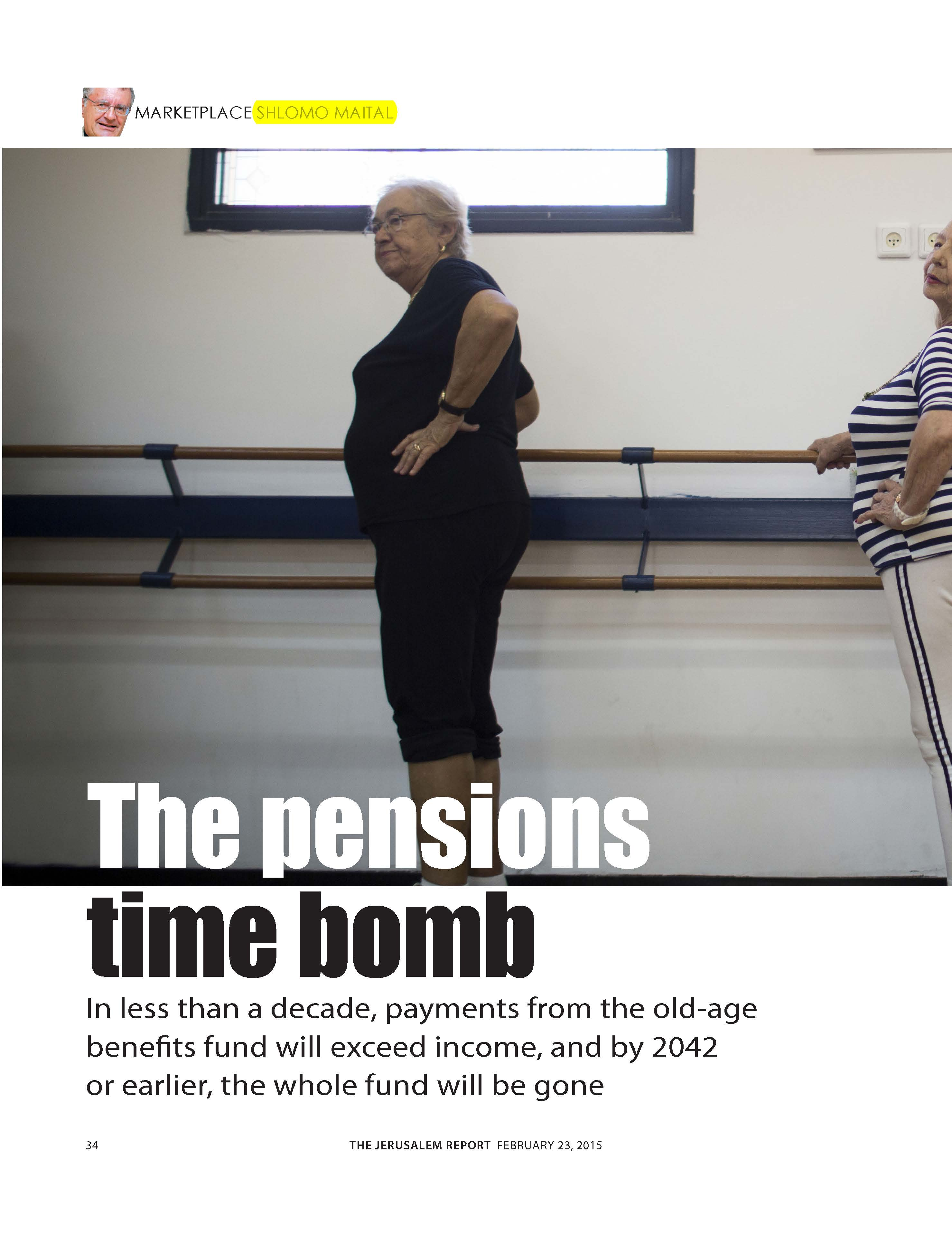 The pensions time bomb