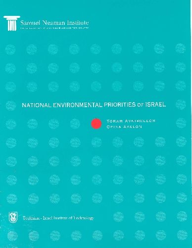 National Priorities for the Environment in Israel - position paper III - English abstract