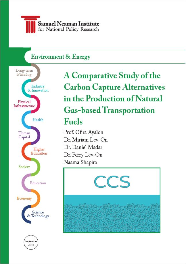A Comparative Study of the Carbon Capture Alternatives in the Production of Natural Gas-based Transportation Fuels