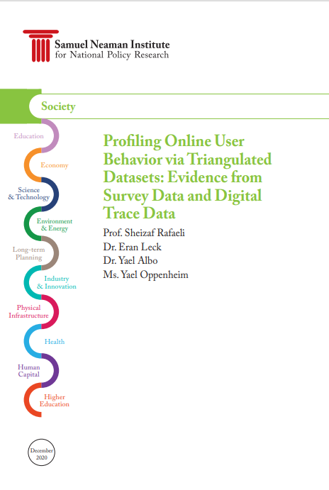 Profiling Online User Behavior via Triangulated Datasets: Evidence from Survey Data and Digital Trace Data