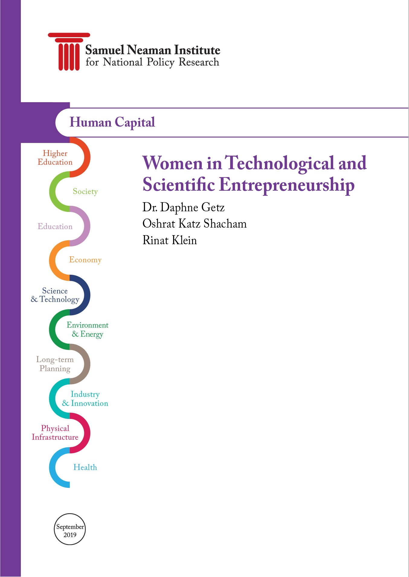 Women in Technological and Scientific Entrepreneurship